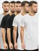 Denim Project T-Shirt Longy 5 Pack T-Shirt noir
