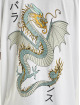 Denim Project T-Shirt Dragon Washed Box Fit white