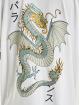 Denim Project Tričká Dragon Washed Box Fit biela