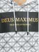 Deus Maximus Bluzy z kapturem Acrisius bialy