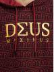 Deus Maximus Bluzy z kapturem Erato czerwony
