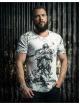 Deus Maximus T-shirt Sant Angelo bianco