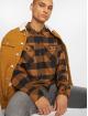 Dickies Рубашка Sacramento коричневый