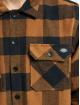 Dickies overhemd Sacramento Relaxed Long Sleeve bruin