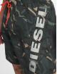 Diesel Kúpacie šortky Bmbx-Seasprint olivová 3