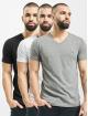 Diesel T-Shirty UMTEE-Michael 3 Pack czarny