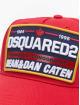 Dsquared2 Кепка с застёжкой Canadian Iconography красный
