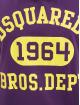 Dsquared2 Футболка 1964 пурпурный
