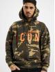 Dsquared2 Bluzy z kapturem Camouflage Icon Hooded moro