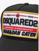 Dsquared2 Snapback Cap Canadian Iconography black