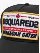 Dsquared2 Snapback Cap Canadian Iconography nero