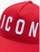 Dsquared2 Snapback Caps Icon červený