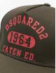 Dsquared2 Snapback Caps Caten Ed. khaki