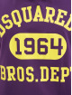 Dsquared2 T-shirt 1964 lila