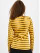 Eight2Nine Camiseta de manga larga Stripes amarillo