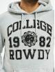 Eight2Nine Hoody College grijs