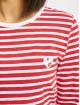 Eight2Nine Pitkähihaiset paidat O-Neck punainen