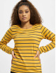 Eight2Nine T-Shirt manches longues Stripes jaune