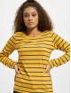 Eight2Nine Tričká dlhý rukáv Stripes žltá