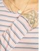 Eight2Nine Tričká dlhý rukáv Double Stripe ružová