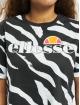 Ellesse T-skjorter Rerta Crop svart