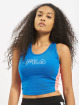 FILA Active Tops Active UPL Lacy Cropped niebieski