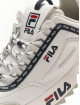 FILA Sneakers Heritage Disruptor Logo bialy