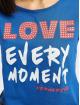 Fornarina t-shirt RED blauw