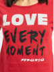 Fornarina T-shirt RED rosso