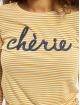 Fresh Made Maglietta a manica lunga Cherie bianco