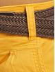 Fresh Made Shorts Belt Bermuda gelb