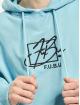 Fubu Bluzy z kapturem Script niebieski