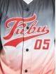 Fubu Chemise Varsity Baseball Jersey Gradient noir