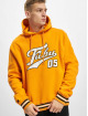 Fubu Hoody Varsity orange