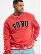 Fubu Pullover Fb College Ssl rot