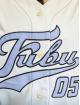Fubu Skjorte Varsity Baseball beige