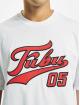 Fubu T-paidat Fb Varsity valkoinen