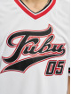 Fubu T-Shirt Varsity Jersey blanc