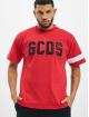 GCDS Футболка Logo красный