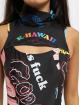 GCDS Dress K-Hawaii black