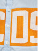 GCDS Hemd Logo blau