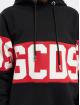 GCDS Hoodie Logo svart