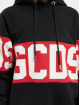 GCDS Hoody Logo schwarz