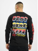 GCDS Longsleeve Kawaii Long Sleeves zwart