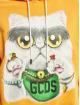 GCDS Sweat capuche Kittho orange
