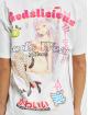 GCDS T-Shirt HENTAI MAG blanc