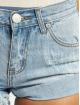 Glamorous Shorts Fray blau