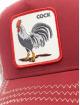 Goorin Bros. Casquette Trucker mesh Rooster rouge