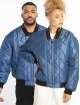 Grimey Wear Bomber jacket Transsiberian blue 0