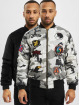 Grimey Wear Bomber jacket Double Face camouflage